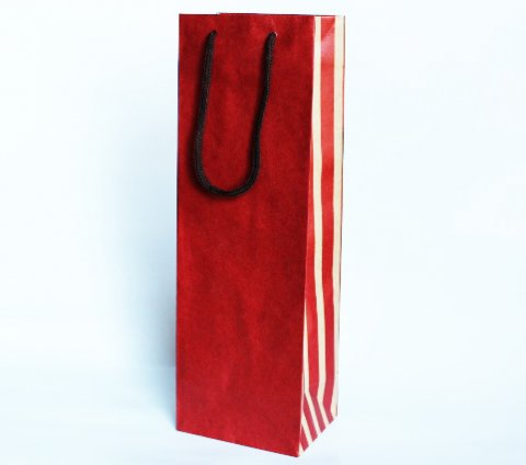 720ml 1本入れ紙袋 (水玉)