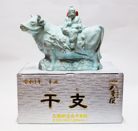 八重桜 干支壷 丑 芋25度 720ml