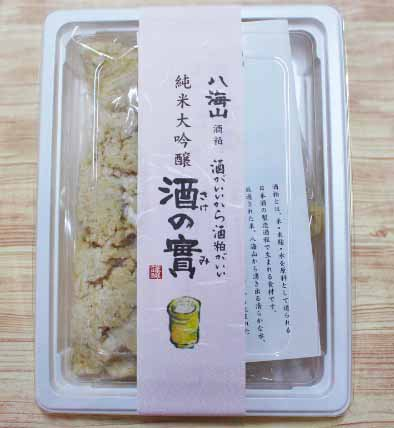 酒粕 【八海山の酒の實】 純米大吟醸 300g