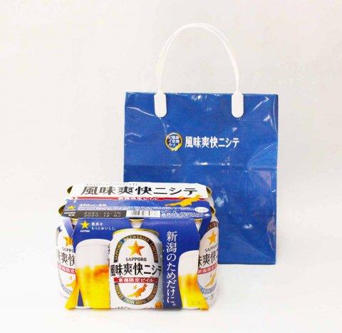 サッポロ風味爽快ニシテ 6缶セット