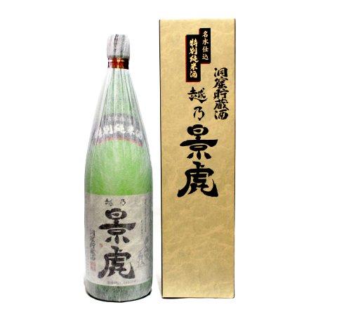 越乃景虎 洞窟貯蔵酒 特別純米酒 1800ml