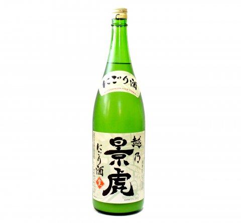 越乃景虎 活性生 にごり酒 1800ml