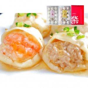 ギフト 焼き小籠包+海老焼き小籠包 2種セット(各15個入)