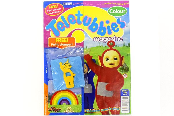 Teletubbies Magazine テレタビーズマガジン雑誌 2000年 37 ラーラ