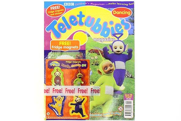 Teletubbies Magazine テレタビーズマガジン雑誌 2000年 38
