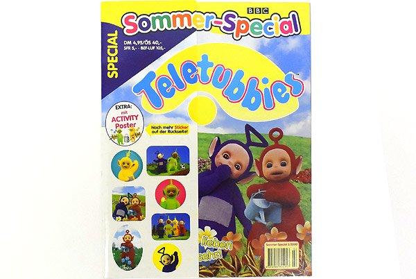 Teletubbies Magazine テレタビーズマガジン雑誌 ドイツ語 ステッカー