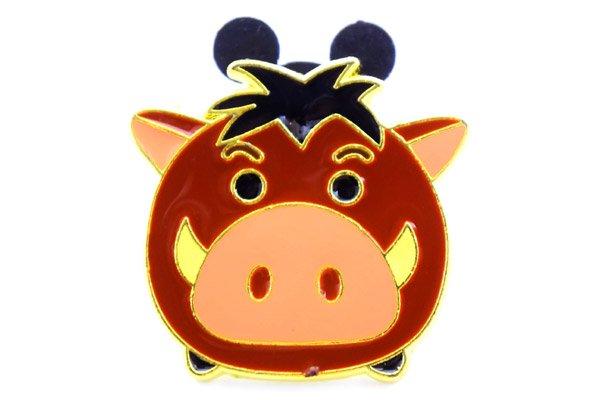 Disney Store・Pin Badge/ディズニーストア・ピンバッチ 「Tsumtsum/ツムツム・Pumbaa/プンバァ・The Lion  King/ライオンキング」 限定1000個