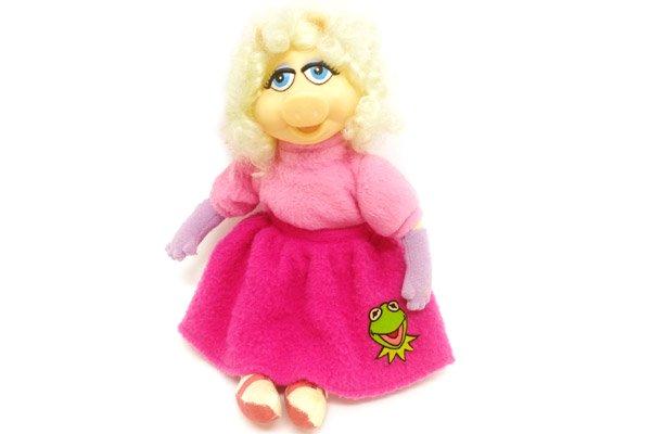 the muppets ザ マペッツ miss piggy ミス ピギー ぬいぐるみ 29cm