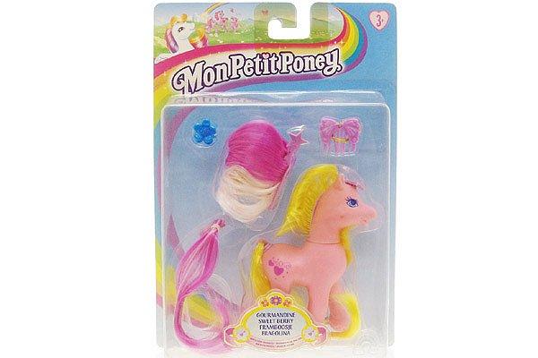 Vintage 1990s G2 My Little Pony Sweetberry Mlp Hasbro