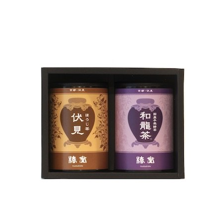 国産烏龍茶・ほうじ茶セット【ミニ缶】