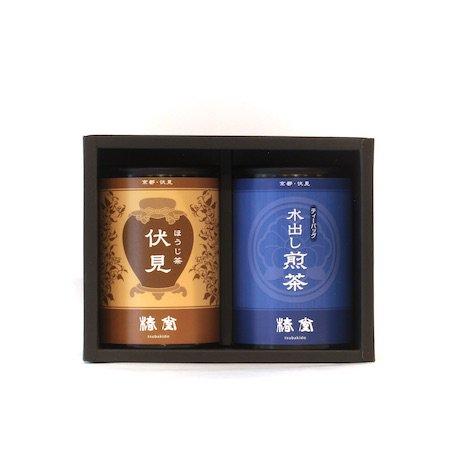 水出し煎茶・ほうじ茶セット【ミニ缶】