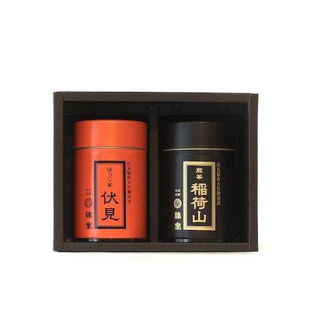 御用達銘茶セット【ミニ缶】
