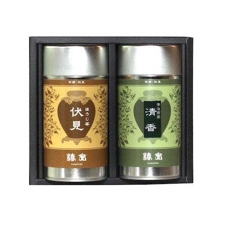ほうじ茶【伏見】・宇治煎茶【清香】セット