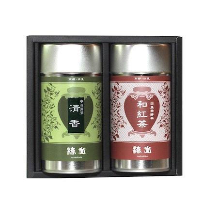 宇治煎茶【清香】・国産紅茶【和紅茶】セット