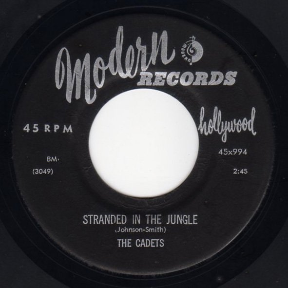 The Cadets - Stranded In The Jungle - FRATHOP RECORDS