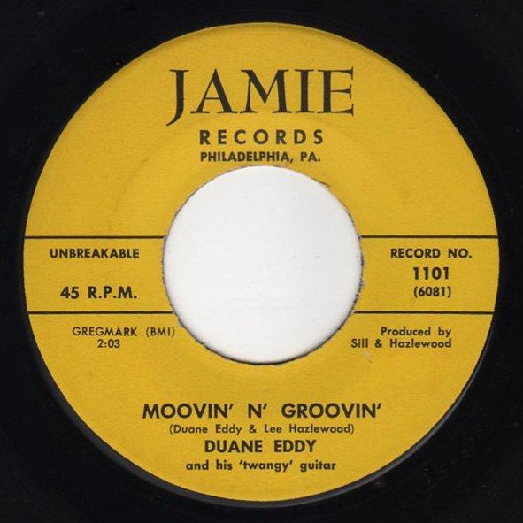 Duane Eddy - Movin' N Groovin - FRATHOP RECORDS