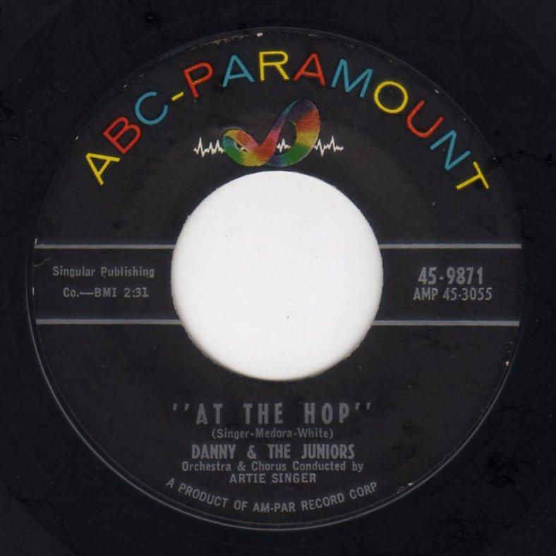 Danny & The Juniors - At The Hop - FRATHOP RECORDS