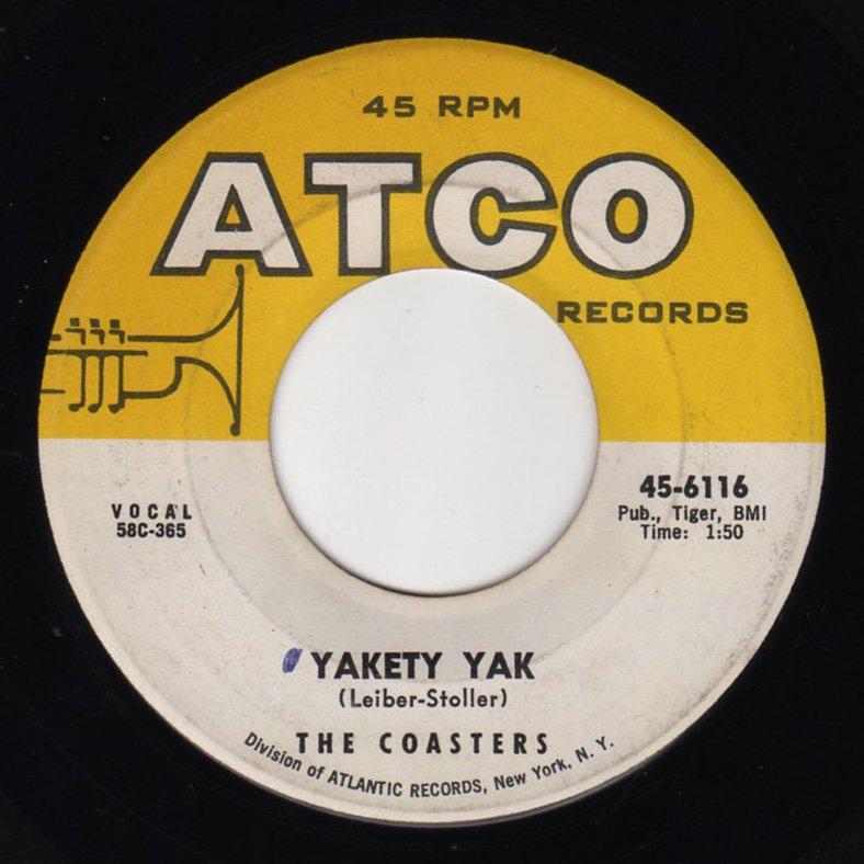 The Coasters - Yakety Yak - FRATHOP RECORDS