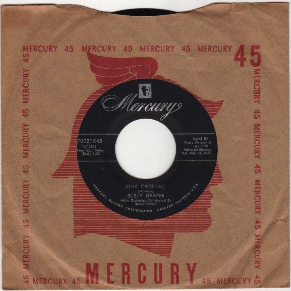 rusty draper - pink cadillac - frathop records