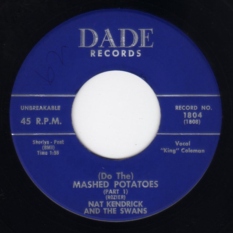 Nat Kendrick And The Swans - (Do The) Mashed Potatoes - FRATHOP ...