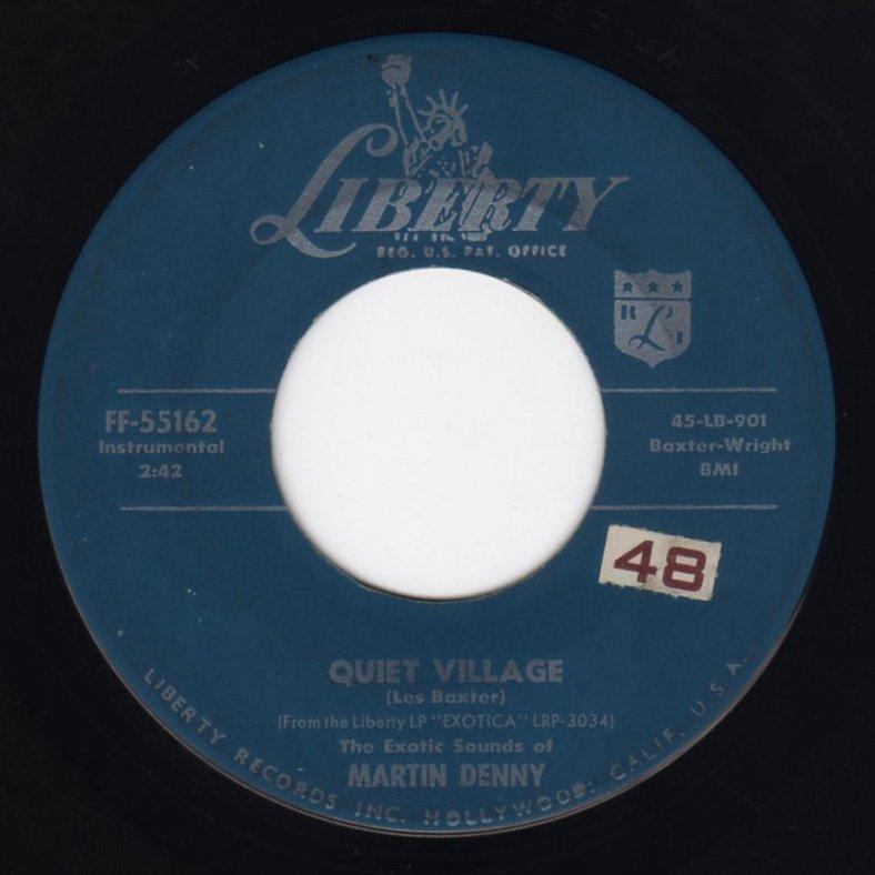 Martin Denny - Quiet Village - FRATHOP RECORDS
