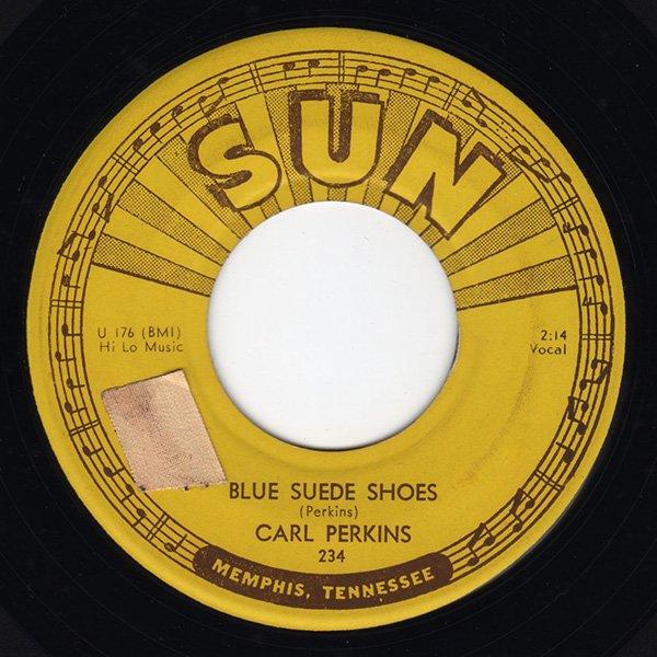 Carl Perkins - Blue Suede Shoes / Honey Don't - FRATHOP RECORDS