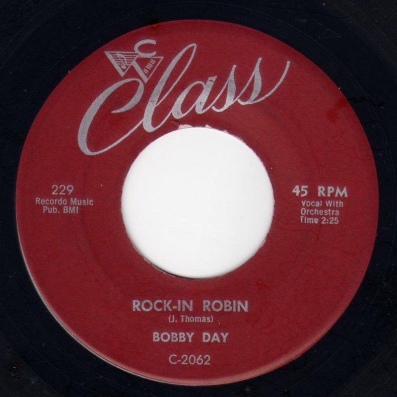 Bobby Day - Rockin' Robin - FRATHOP RECORDS