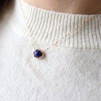 [VANLOON] K10/【CADRE】ラピスラズリのネックレス