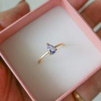 [VANLOON]K18/【tear】タンザナイトのリング