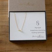 [即納][minikin]14kgf/【8月】ペリドットのネックレス