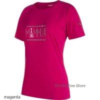 【2017モデル】マムート トロバット アドバンス Tシャツ レディース Mammut Trovat Advanced T-Shirt Women