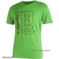 【2017モデル】マムート スローパー Tシャツ メンズ Mammut Sloper T-Shirt Men