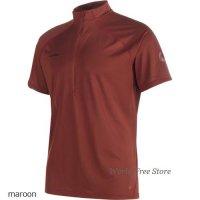 【2017モデル】マムート アタカソ ライト ジップ Tシャツ メンズ Mammut Atacazo Light Zip T-Shirt Men