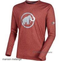 【2017モデル】マムート マムート ロゴ ロングスリーブ メンズ Mammut Mammut Logo Longsleeve Men