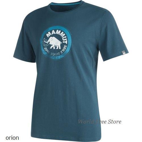 【2017/2018】マムート セール Tシャツ メンズ Mammut Seile T-Shirt Men