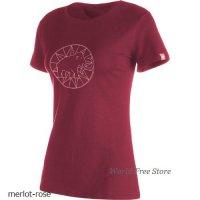 【2018モデル】マムート マムート ロゴ Tシャツ レディース Mammut Mammut Logo T-Shirt Woman