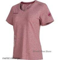 【2018モデル】マムート トロバット Tシャツ レディース Mammut Trovat T-Shirt Women