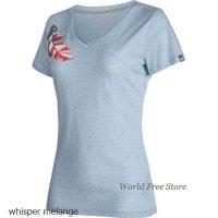 【2018モデル】マムート ゼファー Tシャツ レディース Mammut Zephira T-Shirt Women