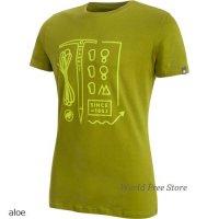 【2018モデル】マムート スローパー Tシャツ メンズ Mammut Sloper T-Shirt Men