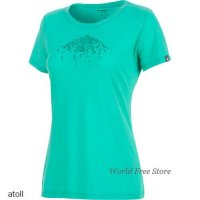 <img class='new_mark_img1' src='https://img.shop-pro.jp/img/new/icons15.gif' style='border:none;display:inline;margin:0px;padding:0px;width:auto;' />【2018/2019】マムート アルナスカ Tシャツ レディース Mammut Alnasca T-Shirt Women