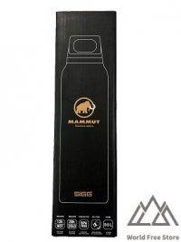 【即納】マムート サーモボトル Mammut Thermo Bottle 0.5L Black
