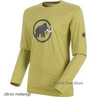 【2018/2019】マムート マムート ロゴ ロングスリーブ メンズ Mammut Mammut Logo Longsleeve Men