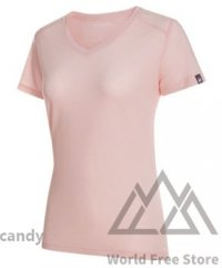 <img class='new_mark_img1' src='https://img.shop-pro.jp/img/new/icons15.gif' style='border:none;display:inline;margin:0px;padding:0px;width:auto;' />【2019モデル】マムート アルブラ Tシャツ レディース Mammut Alvra T-Shirt Women