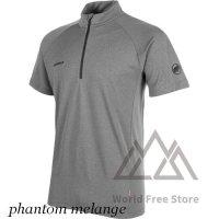 【2020/2021】マムート アジリティ ハーフ ジップ Tシャツ メンズ Mammut Aegility Half Zip T-Shirt Men
