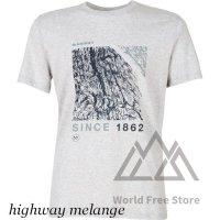 【2020/2021】マムート スローパー Tシャツ メンズ Mammut Sloper T-Shirt Men