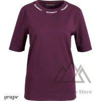 <img class='new_mark_img1' src='https://img.shop-pro.jp/img/new/icons15.gif' style='border:none;display:inline;margin:0px;padding:0px;width:auto;' />【2021/2022】マムート ロゴ Tシャツ レディース Mammut Mammut Logo T-Shirt Women