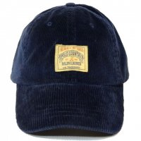 <img class='new_mark_img1' src='//img.shop-pro.jp/img/new/icons50.gif' style='border:none;display:inline;margin:0px;padding:0px;width:auto;' />POLO by Ralph Lauren Corduroy Hat NAVY