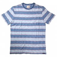 <img class='new_mark_img1' src='//img.shop-pro.jp/img/new/icons50.gif' style='border:none;display:inline;margin:0px;padding:0px;width:auto;' />FAHERTY BRAND Ringer Pocket Tee Indigo/Red Bold Stripe