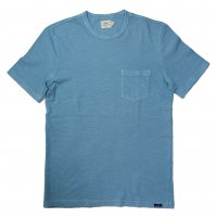 FAHERTY BRAND SS POCKET TEE BLUE