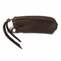 EarlyMorning Dear Key Case BROWN